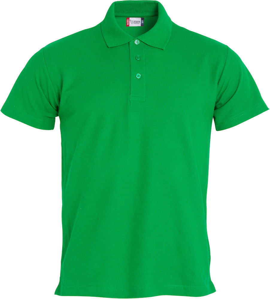Basic polo appelgroen