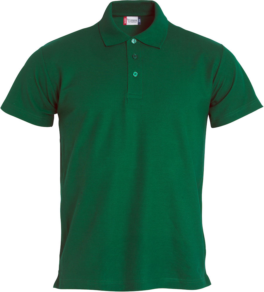 Basic polo bottlegreen