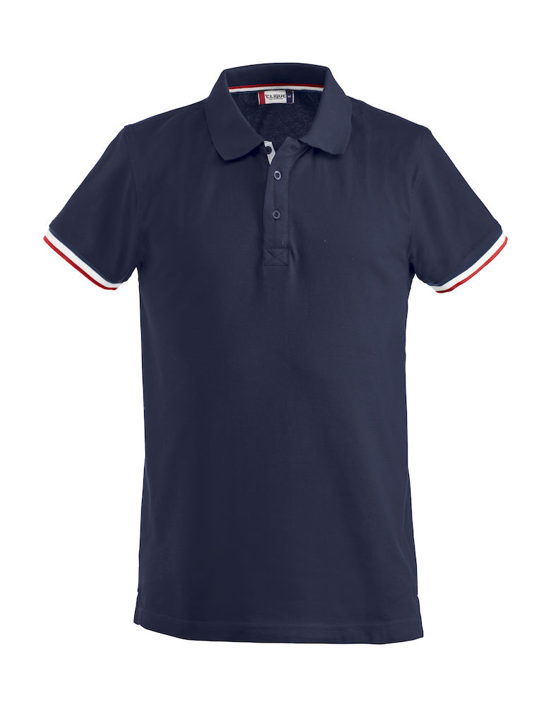 Basic newton polo Dark Navy
