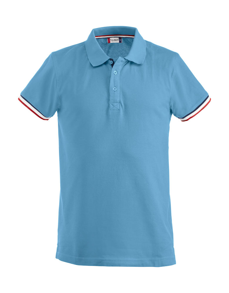 Basic newton polo hemelsblauw