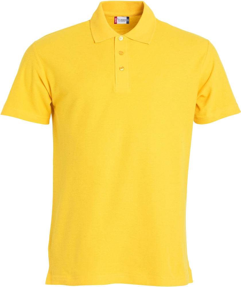 Basic polo lemon