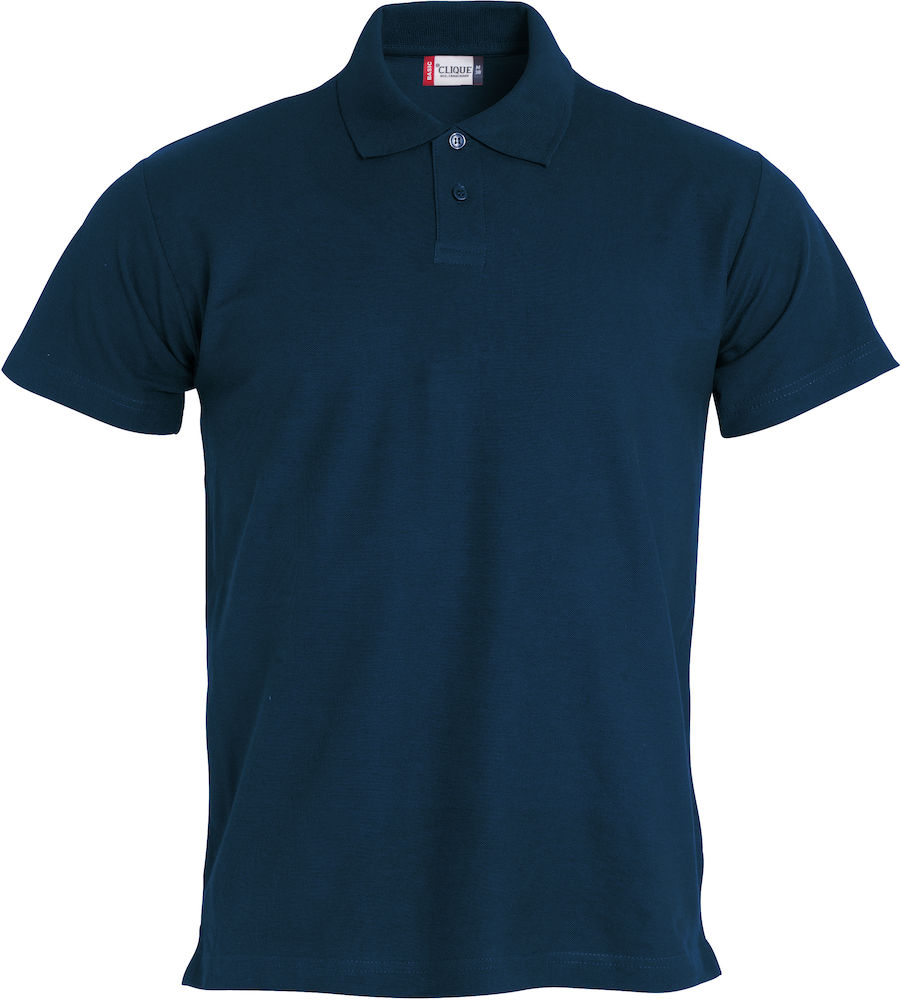 Basic kinder polo navy