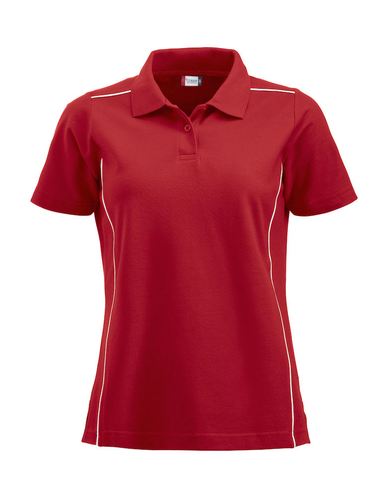 Classic new alpena dames polo rood