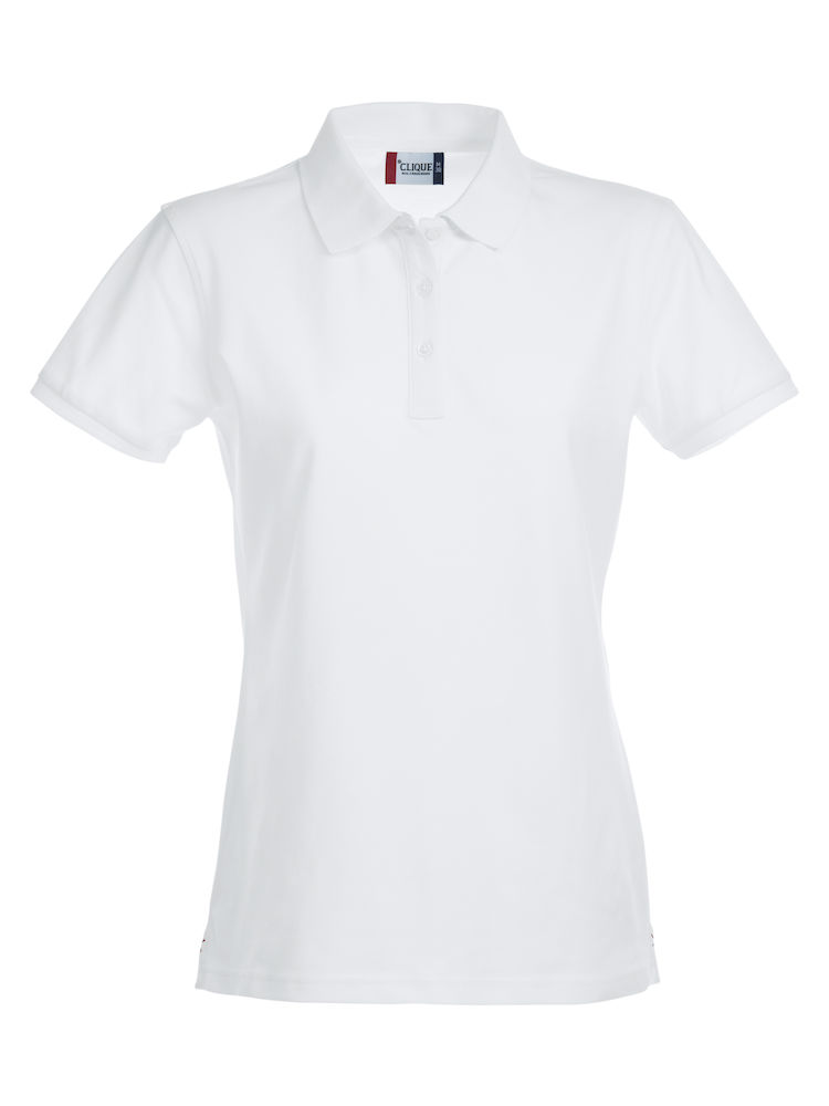 Premium dames stretch polo
