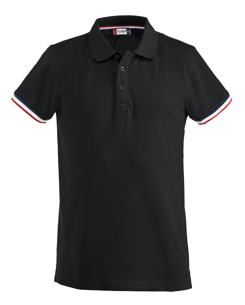 Basic newton polo zwart